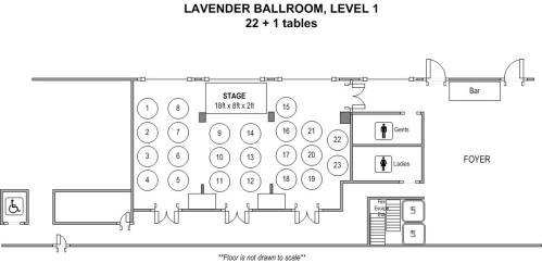 Fort Canning Hotel Lavender Ballroom